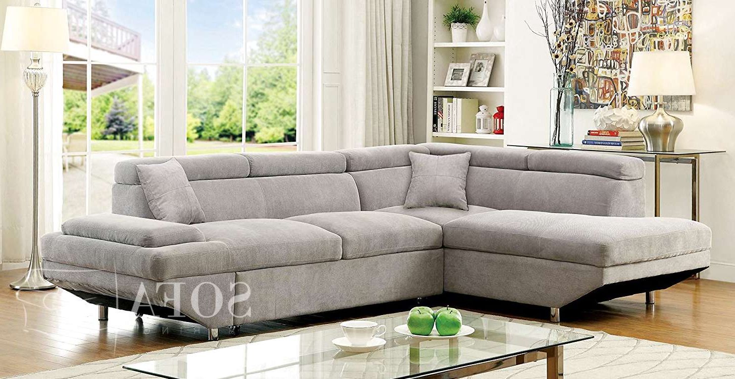 Versatile Comfort with Newest Setoril Modern Sectional Sofa Swith Chaise Woven Linen