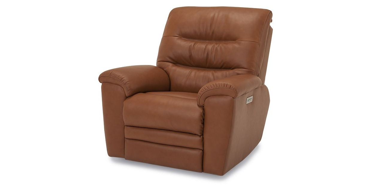 Walker Gray Power Reclining Sofas Intended For Latest Palliser Leather Keiran Power Recliner (View 4 of 15)