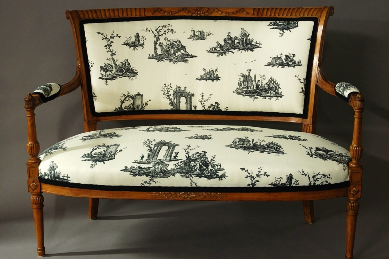 Well Known 19Thc French Two Seater Sofa (View 18 of 25)