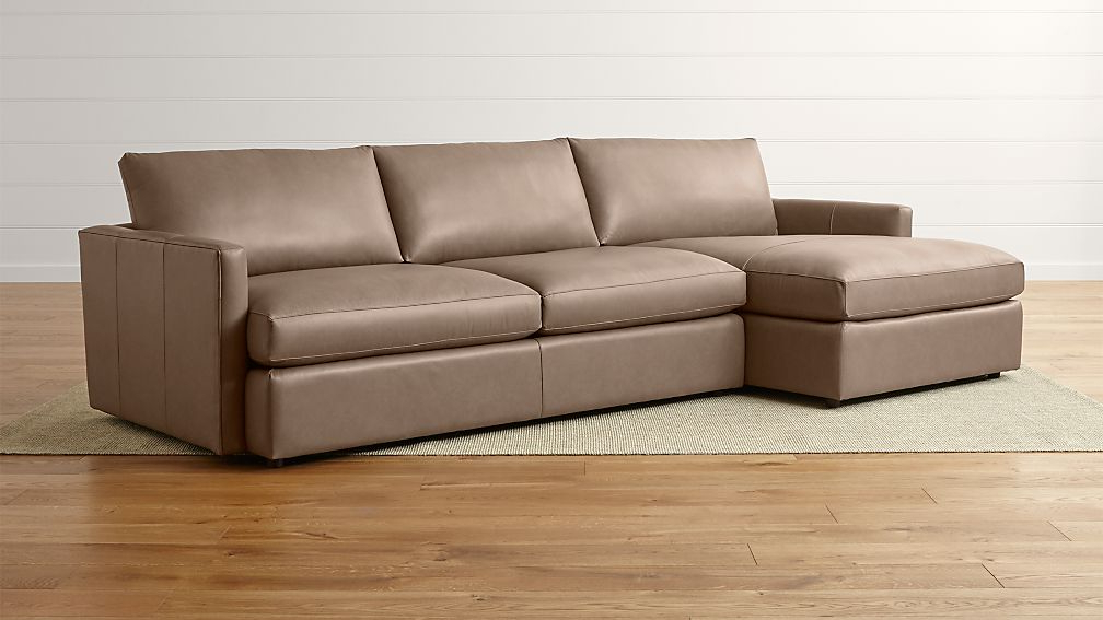 Well Known 2Pc Maddox Left Arm Facing Sectional Sofas With Chaise Brown Intended For Left Sectional Sofa Sofa Design Ideas Facing Left Hand (View 11 of 25)