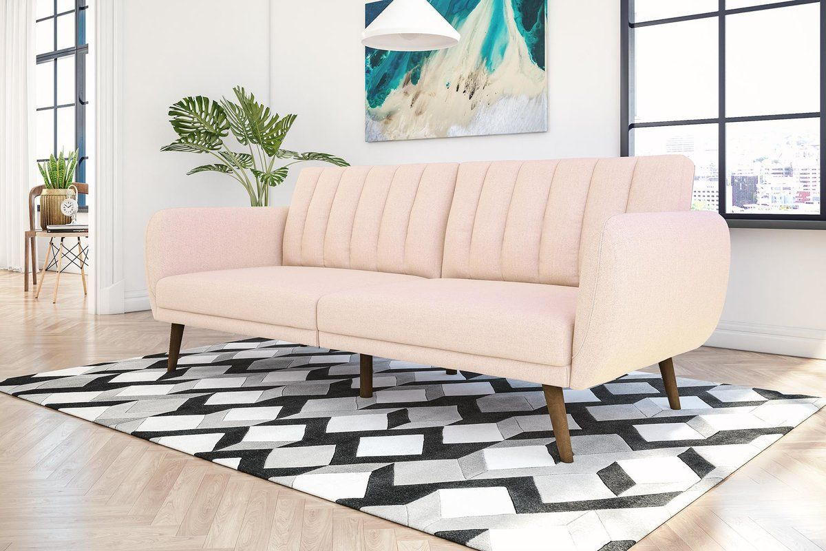 Well Known Brittany Sectional Futon Sofas Pertaining To Novogratz Brittany Full  (View 3 of 25)