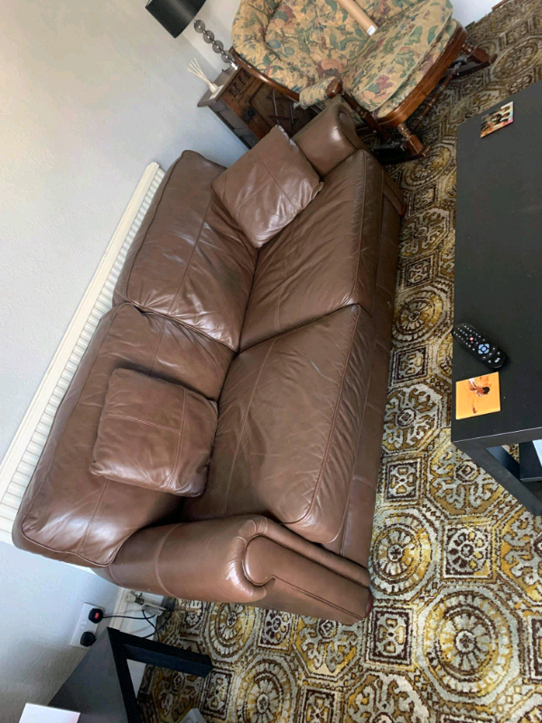 Well Known Brown Leather Chair And Sofa (View 20 of 25)