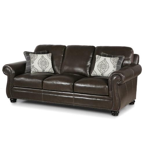 Well Known Charleston Sofas Pertaining To Charleston Leather Sofa (View 3 of 15)