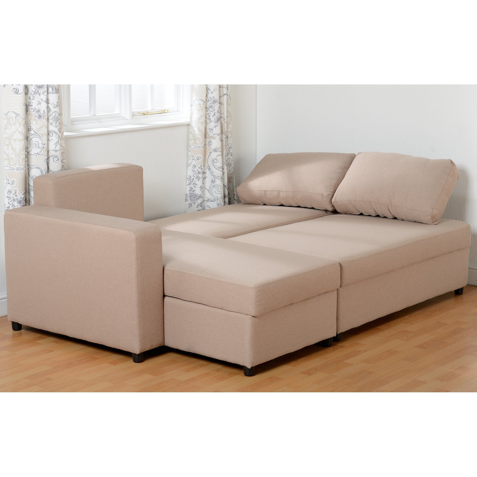 Well Known Corner Sofa Sleeper – Wood Chair Throughout 2Pc Maddox Right Arm Facing Sectional Sofas With Cuddler Brown (View 7 of 18)