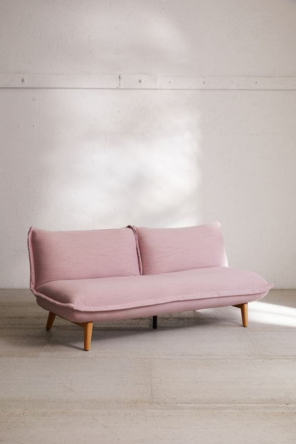 Well Known Easton Small Space Sectional Futon Sofas Regarding Henley Convertible Sofa (View 13 of 25)