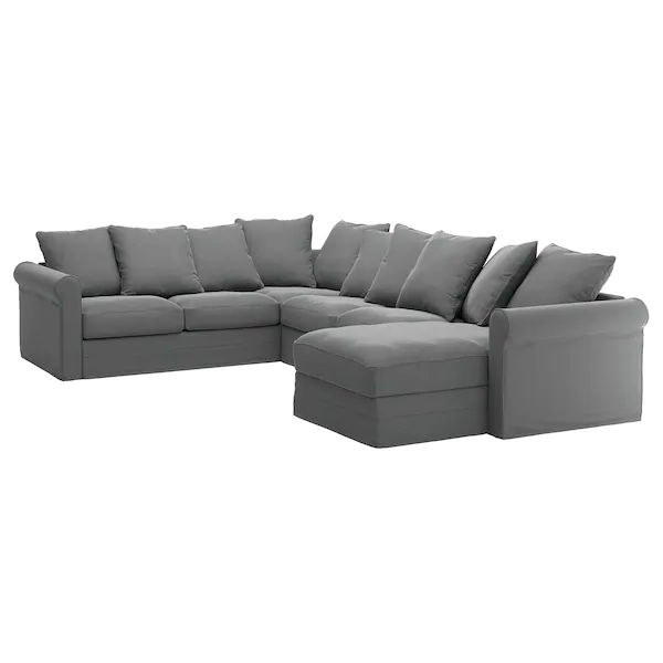 Well Known Harmon Roll Arm Sectional Sofas Throughout Grönlid Sectional, 5 Seat Corner, With Chaise/Ljungen (View 2 of 25)