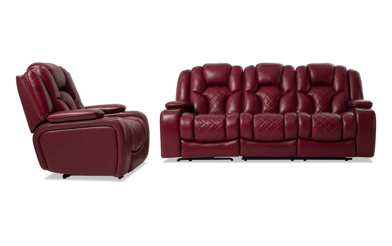 Well Known Panther Fire Leather Dual Power Reclining Sofa – Latest Inside Panther Fire Leather Dual Power Reclining Sofas (View 2 of 15)