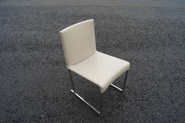 Well Known Set Of Ten Solo Dining Chairsantonio Citterio For B&B For Antonio Light Gray Leather Sofas (View 3 of 15)