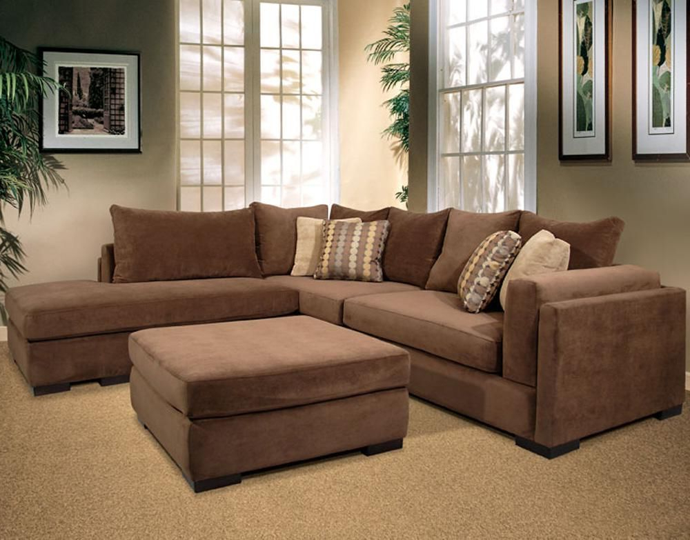 Well Liked 2Pc Maddox Right Arm Facing Sectional Sofas With Chaise Brown Regarding Benchcraft Justyna 3 Piece Left Arm Facing Sectional With (View 20 of 25)
