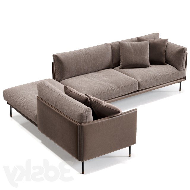 Well Liked 3D Models: Sofa – Frag Wilton In Wilton Fabric Sectional Sofas (View 5 of 25)