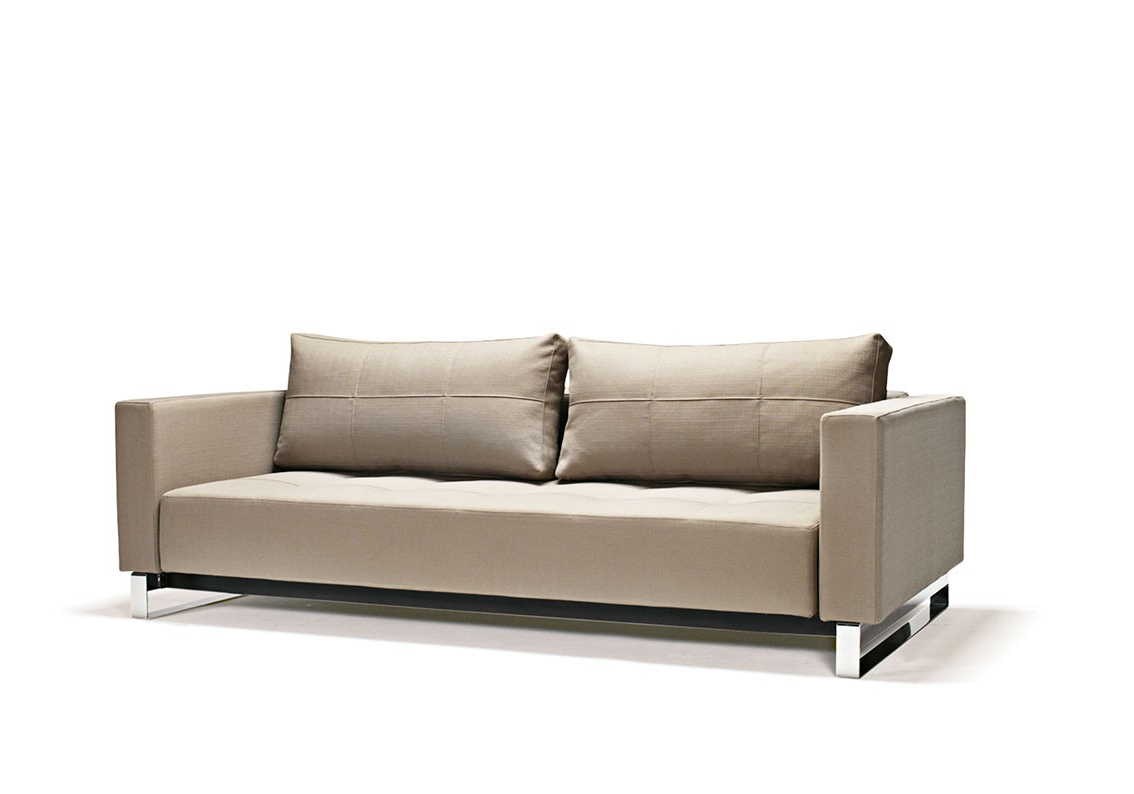 Well Liked Felton Modern Style Pullout Sleeper Sofas Black With Regard To Fabric Upholstered Contemporary Sofa Bed Baton Rouge (View 7 of 25)