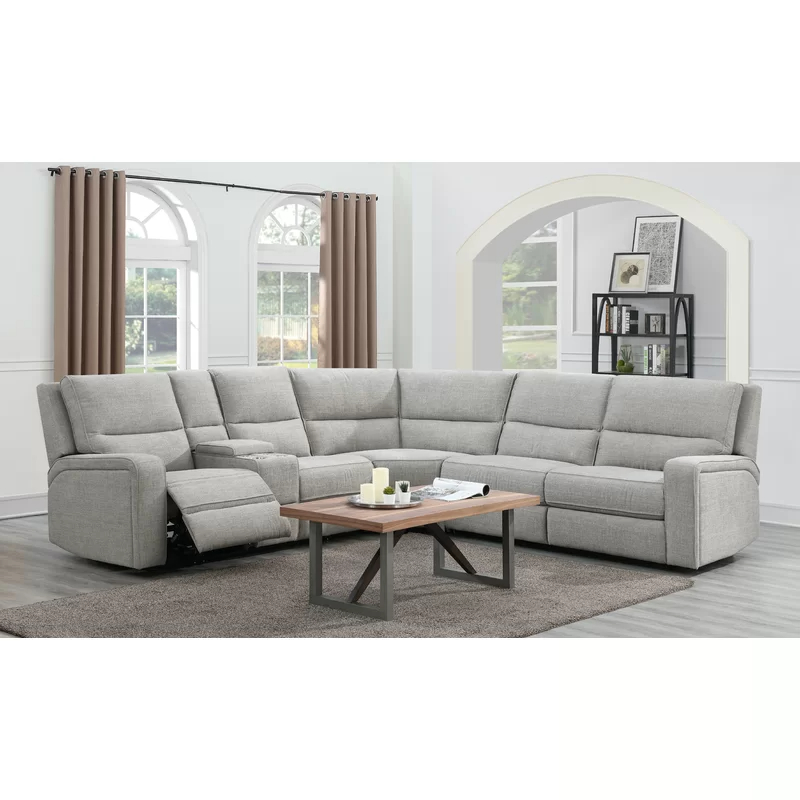 """Well Liked Harlee 116"""" Wide Right Hand Facing Corner Sectional Pertaining To Monet Right Facing Sectional Sofas (View 11 of 25)"""