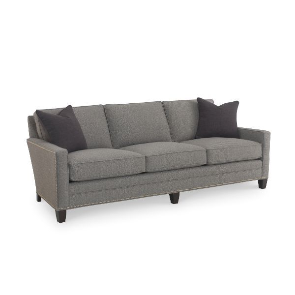 Widely Used Maxwell Gray Sofa Nailhead Trim @ Saybrook Country Barn Throughout Radcliff Nailhead Trim Sectional Sofas Gray (View 1 of 25)