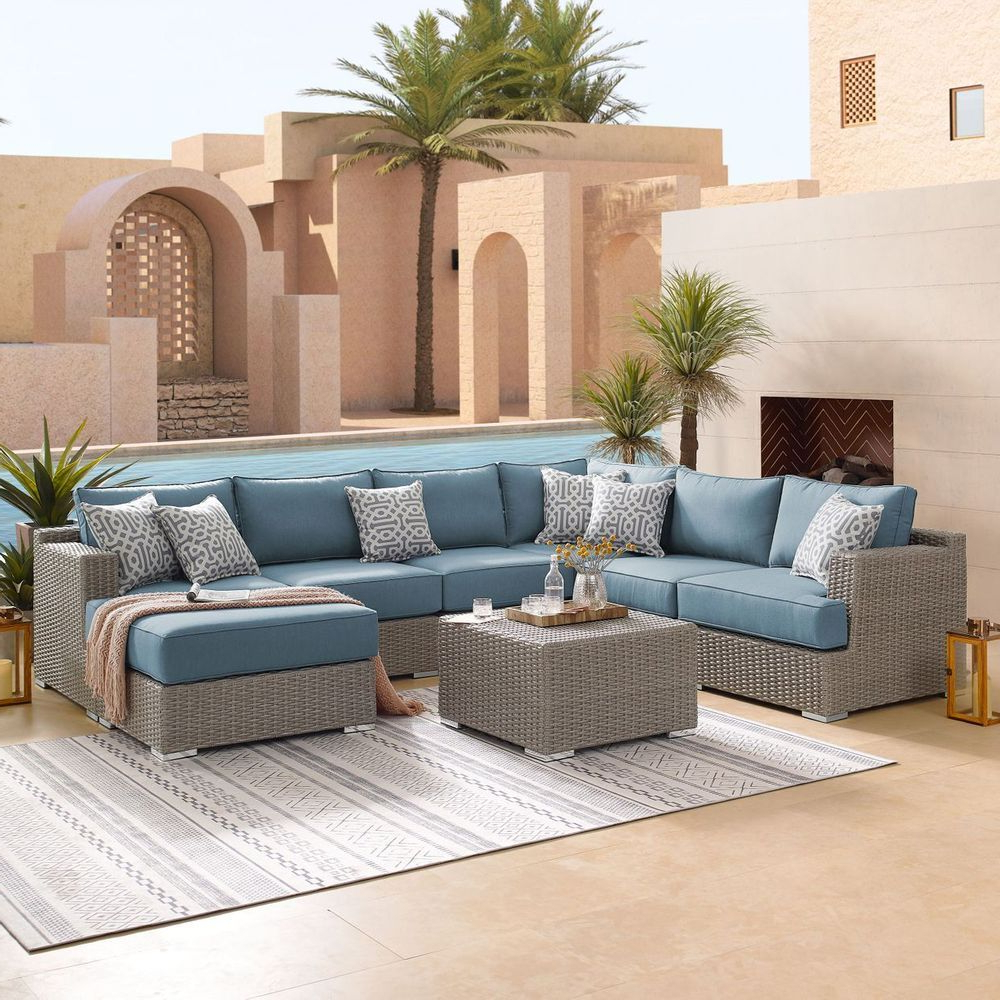 Widely Used Niko 8 Piece Modular Seating Set In  (View 15 of 25)