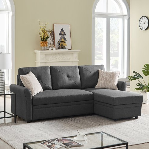 Widely Used Red Barrel Studio® Reversible Sectional Sofa Couch With Palisades Reversible Small Space Sectional Sofas With Storage (View 20 of 25)