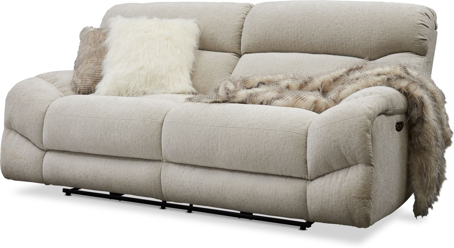 Widely Used Sofa Power Recliner – Latest Sofa Pictures Regarding Trailblazer Gray Leather Power Reclining Sofas (View 8 of 15)