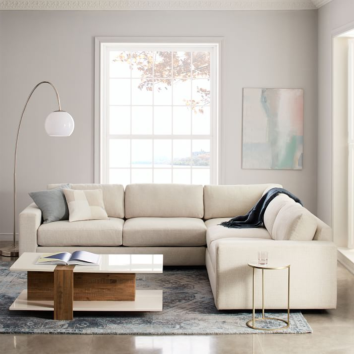 Widely Used Urban 3 Piece L Shaped Sectional (View 16 of 25)