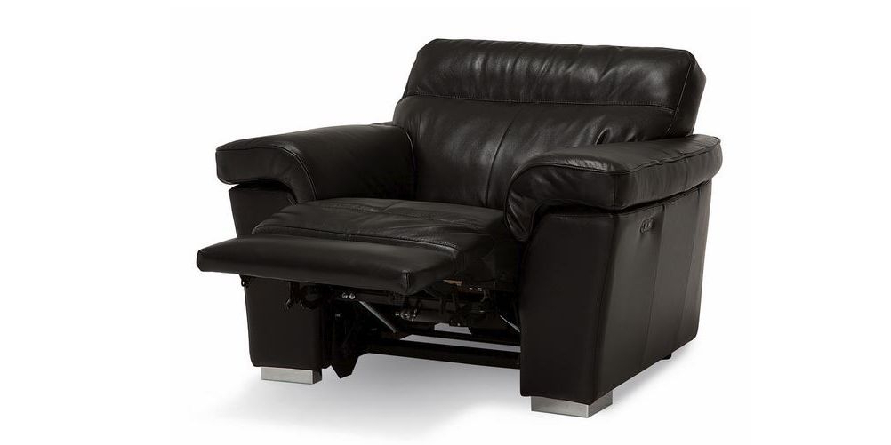 Widely Used Walker Gray Power Reclining Sofas In Palliser Leather Alaska Recliner (View 7 of 15)