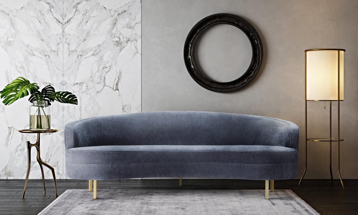 Wiltshire Grey Velvet Sofa – Fabric Sofas – Sofas Within Most Popular Strummer Velvet Sectional Sofas (View 10 of 25)