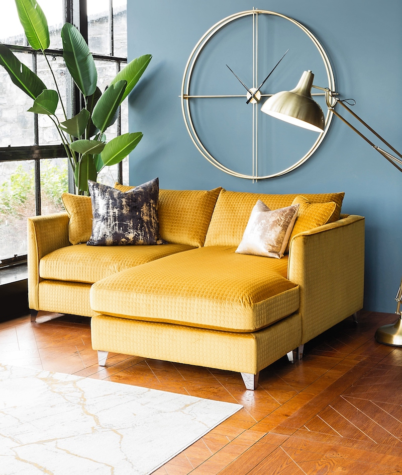 Your Essential Guide To Harvey Norman'S New Interiors With Regard To Fashionable 4Pc French Seamed Sectional Sofas Oblong Mustard (View 4 of 25)
