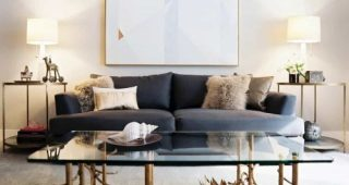 Contemporary Living Room Table Lamps