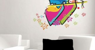 Abstract Art Wall Decal
