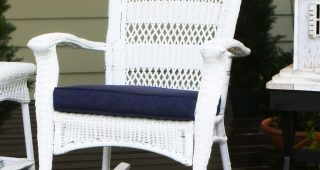 Outdoor Wicker Rocking Chairs