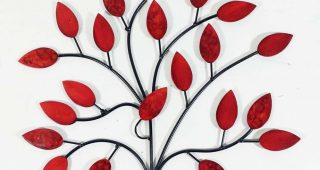 Red Wall Art