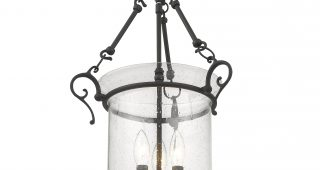 3-Light Single Urn Pendants