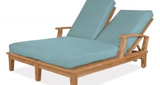 Outdoor Double Chaises