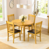 Extending Oak Dining Tables And Chairs (Photo 4 of 25)