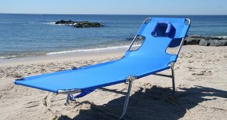 Lounge Chaise Chair By Ostrich