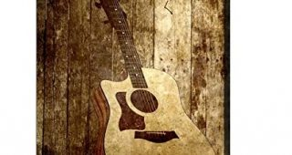 Guitar Canvas Wall Art