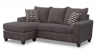 Gray Sofa With Chaise