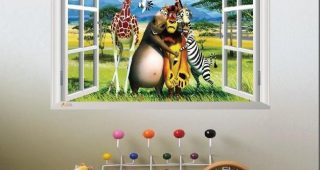 Animals 3D Wall Art