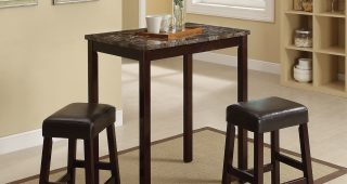 Askern 3 Piece Counter Height Dining Sets (Set Of 3)