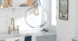 Betsy 1-Light Single Globe Pendants