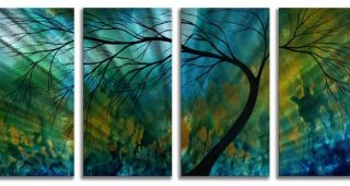 Blue And Green Wall Art