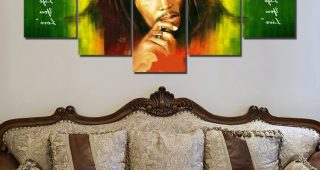 Bob Marley Canvas Wall Art