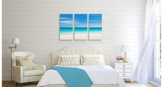 Beach Wall Art For Bedroom