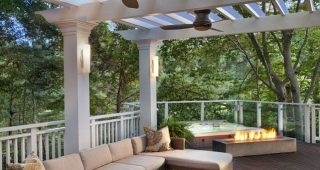 Outdoor Ceiling Fans Under Pergola
