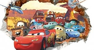 Cars 3D Wall Art