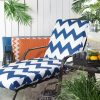 Patio Chaise Lounge Cushions (Photo 2 of 15)