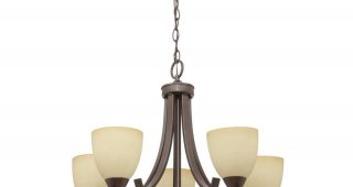 Crofoot 5-Light Shaded Chandeliers