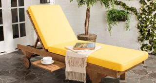 Brown Outdoor Chaise Lounge Chairs