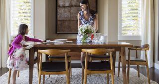 Country Dining Tables With Weathered Pine Finish