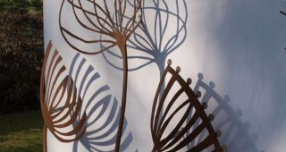 Outdoor Wall Sculpture Art