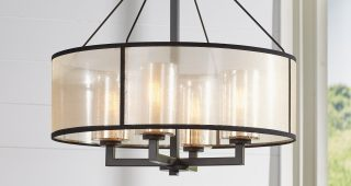 Dailey 4-Light Drum Chandeliers