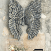 Angel Wings Sculpture Plaque Wall Art (Photo 6 of 15)