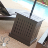 Patio Umbrella Stand Side Tables (Photo 5 of 15)